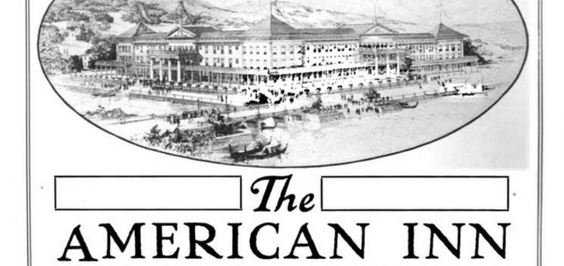 Slabtown Nob Hill Fun Fact #30: The American Inn a small piece of a historic hotel saved